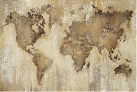 Vintage World Map by Picture Vintage World Map Living Spaces Babaimage
