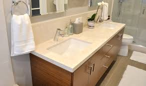 bathroom enchanting teak floating vanity with two doors and three
