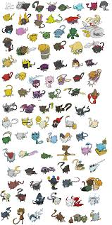 actually every pokemon is based off of the cat 125486758