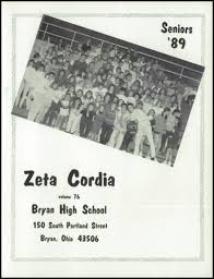 bryan high school yearbook explore 1989 bryan high school yearbook bryan oh classmates