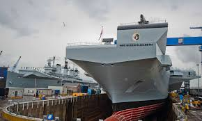 Queen Elizabeth Ii Ship by Hms Illustrious Next To Her Replacement Hms Queen Elizabeth