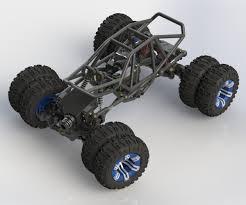 jeep rock crawler rc 3d printed r c micro rock crawler ctm projects
