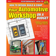 How To Build A Garage Workshop by Cartech Sa207 Mustang Book How To Design Equip Auto Workshop Budget