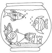 fish bowl coloring free download