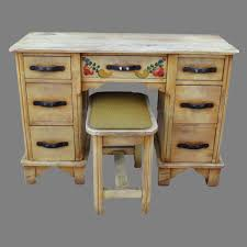 Hacienda Bedroom Furniture by Antique Monterey Desk Monterey Vanity With Bench Stool Monterey