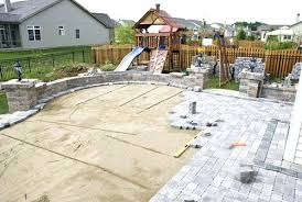 Cost To Install Paver Patio by How To Install Paver Stones Patio Patio Installation In Cleveland