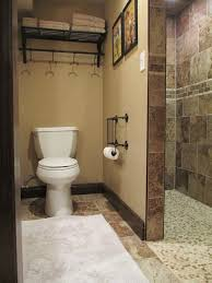 basement bathrooms ideas walk in shower the basement bathroom great for kids and intended