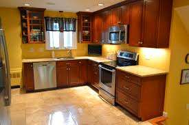 beautiful newly remodeled kitchen with tile ig stainless steel