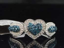 ebay wedding ring sets gold blue engagement ring wedding bridal set