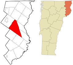 State Of Vermont Map by Ferdinand Vermont Wikipedia