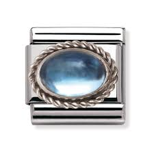 november birthstone nomination silver u0026 topaz november birthstone classic charm 030510
