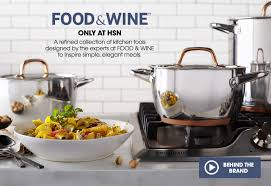 hsn home decor food u0026 wine cookware hsn