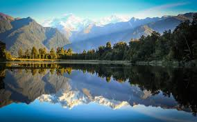 nature lake reflections wallpapers new zealand lake matheson reflections wallpaper