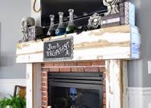 Fireplace Mantels For Tv by 18 U0027spooktacular U0027 Halloween Ideas For Your Fireplace Mantel