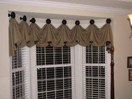 kitchen 3 fan swag valances for kitchen for fancy kitchen decor idea