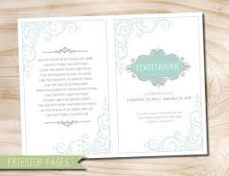 Funeral Bulletin 8 Best Funeral Images On Pinterest Funeral Program Template And