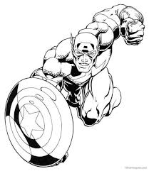 captain america shield coloring pages bestofcoloring com