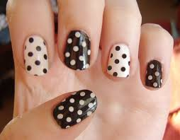 thanksgiving nail art tutorial 28 easy step by step polka dot nail art tutorial for beginners and