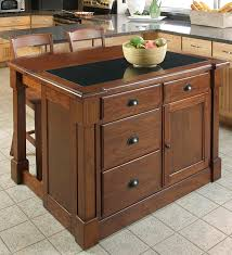 oak kitchen island with granite top aspen island granite top bar kitchen island and stools in a cherry