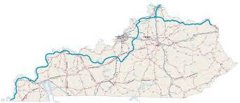 kentucky backroads map biking trails routes across kentucky