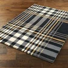 Plaid Area Rug Plaid Rug This Would Go Great In My Husband S Den With