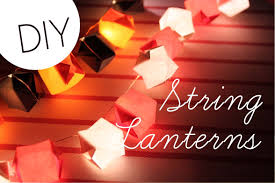 diy string lanterns perfect for fall halloween christmas and