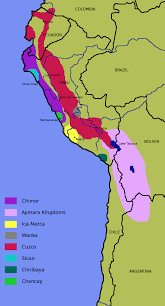 Aztec Empire Map Chimu Culture In Northern Peru Collapse Of Amazing Bible