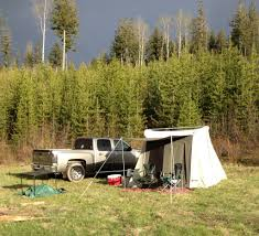 Wall Tent by Wall Tent Or Truck Camper 24hourcampfire