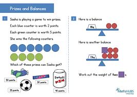 reasoning problem solving number ks1 u0026 fractions and