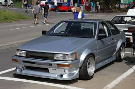 automobile toyota cby flared ae86 coupe garage of the rising sun pinterest