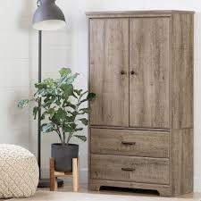 Door Armoire Versa 2 Door Armoire With Drawers Rc Willey Furniture Store