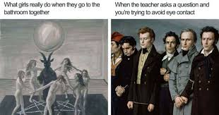 Art Memes - 30 classical art memes that show just how much things haven t