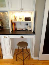 decorating hidden desks in traditional kitchen with mudroom desk