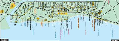 map of waikiki oahu visitor magazine waikiki map
