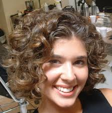 nice haircut for curly hair using curlers on curly hair nice looking haircuts party