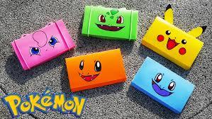 diy easy pokemon pencil box back to tutorial