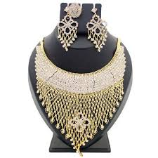necklace set images images Stone studded necklace set at rs 500 set imitation jewellery jpg