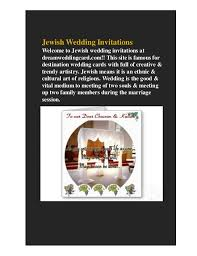 Jewish Wedding Invitations Buy Indian Wedding Invitations With Best Offers