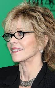bing hairstyles for women over 60 jane fonda with shag haircut gallery 3 our favorite black frame eyeglasses chains 50th and