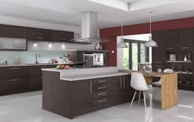 extra large kitchen island with breakfast bar that seats up to six in