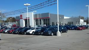 toyota dealer competitive prices and a huge inventory of toyotas in west