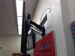 pull down mount over whiteboard jpg