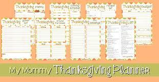 my thanksgiving planner