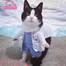Funny Halloween Costumes Cats Popular Cat Doctor Costume Buy Cheap Cat Doctor Costume Lots