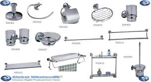 bathroom list of bathroom accessories stylish on bathroom and name