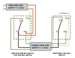 light switch wiring diagram power wire 2 pole way intermediate