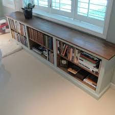 Low Corner Bookcase Furniture The White And Brown Low Bookshelf With The