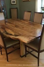 Custom Made Dining Room Furniture 71 Best Custom Dining Tables Images On Pinterest Custom Dining