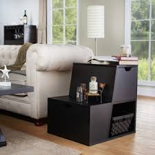 End Table Storage Furniture Of America Modern Jules Storage End Table Free
