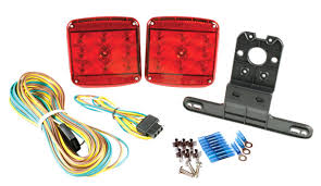 submersible boat trailer lights submersible trailer lighting kit for trailers under 80 wide